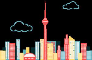 Xamarin Saturday Toronto Skyline